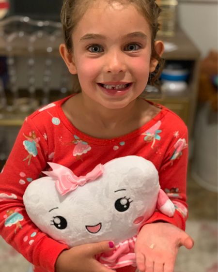 Our first missing tooth! 🦷 We sent her to school and just like that our little girl is growing up! She was so excited to put a note & her tooth in her toothfairy pillow! I've linked it just for you mommas! Comes with 2 gold coins, a necklace & a keepsake box!! 🧚♀️  #mongirlblog http://liketk.it/3frVg #liketkit @liketoknow.it #LTKfamily #LTKkids #LTKunder50 @liketoknow.it.family You can instantly shop my looks by following me on the LIKEtoKNOW.it shopping app