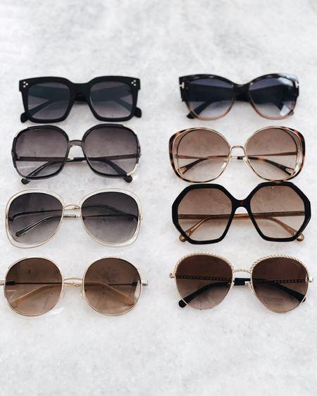 Sunglasses roundup, sunglasses favorites, summer accessories, everyday accessories, designer glasses, StylinByAylin @liketoknow.it #liketkit http://liketk.it/3ify7   #LTKSeasonal #LTKunder100