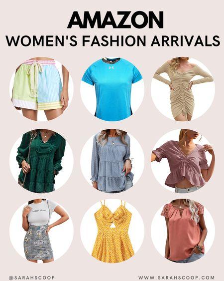 Amazon Women's Fashion Arrivals!  amazon   bestsellers   amazon prime   women's fashion   new arrivals   summer outfits   summer fashion   tie die shorts   t shirts   blouses   tees   dresses   @liketoknow.it #liketkit @sarahscoop www.sarahscoop.com  #LTKcurves #LTKbeauty #LTKstyletip