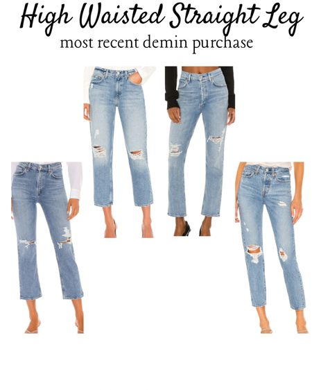 High Waisted Straight Leg Demin Jeans.  I carefully cut mine to make the bottoms into a cropped kick flare raw rem, because I'm obsessed with that style & because I'm so dang short. These are amazing jeans either way. 🙌🏼🙌🏼🙌🏼☺️☺️☺️  • • • #straightleg #straightlegdemin #demin #highwaisted #relaxedfit #momjeans #kickflare #cropped #croppedflare #perfectfit #qualitydemin #style #LTKtravel #LTKstyletip @liketoknow.it.brasil @liketoknow.it.europe http://liketk.it/3bXnG #liketkit @liketoknow.it #LTKeurope