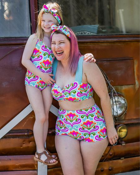 A mini roundup: the best retro suits   #LTKcurves #LTKfamily #LTKswim
