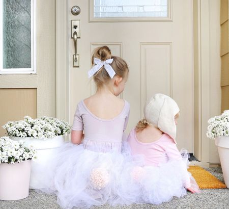 """DIY pink bunny tails + whimsical tutus to hop around in! Video """"How-To"""" demo on Pinterest + Instagram @mama.jots🐰Supplies above.  #LTKSeasonal #LTKkids #LTKSpringSale"""