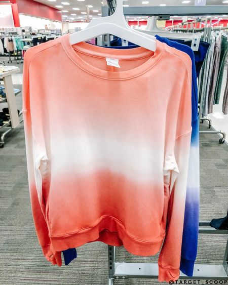 This Coral Tie-Dye crewneck is perfect for travel, lounge, and everyday wear! The soft fabric will have you wanting to wear it everyday🧡🤍🧡 #targetclothes #targetathletic #targetcrewneck #tiedye #athleticwear #athletictop #targetfinds #targetmusthaves #targetshopping #targetstye #targethaul #targetfashion #target #targetforyou #targetstyle #targetrun #comfystyle #shopthepost #targetaddict #targetmademedoit #targetshopping #targetdeals #targetdoesitagain #targetlife #targetlove #shopthelook #shopwithus #affordablestyle #targetfanatic  #LTKstyletip #LTKDay #LTKfit