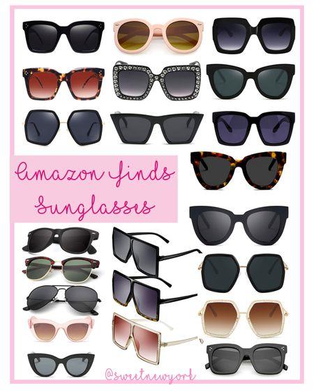 Amazon finds sunglasses http://liketk.it/3ijep @liketoknow.it #liketkit #LTKswim #LTKstyletip #LTKunder50