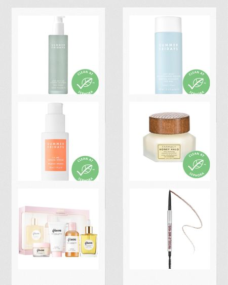 Sephora Sale Picks! Use code HOLIDAYFUN  — Summer Fridays Amino Gel Cleanser — A gentle morning cleanser — Summer Fridays Soft Reset — Replaces a toner — Summer Fridays CC Me Serum — My third bottle! — Farmacy Honey Halo Ceramide Moisturizer — Has a cool magnetic lid + spatula — Benefit Brow Pencil — To compliment the Microfilling Pen — Gisou Honey Infused Haircare Set — Love the hair oil   http://liketk.it/30Idl #liketkit @liketoknow.it