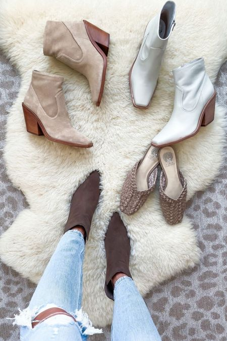 Booties and shoes on sale NSALE Nordstrom anniversary sale   #LTKsalealert #LTKunder50 #LTKunder100