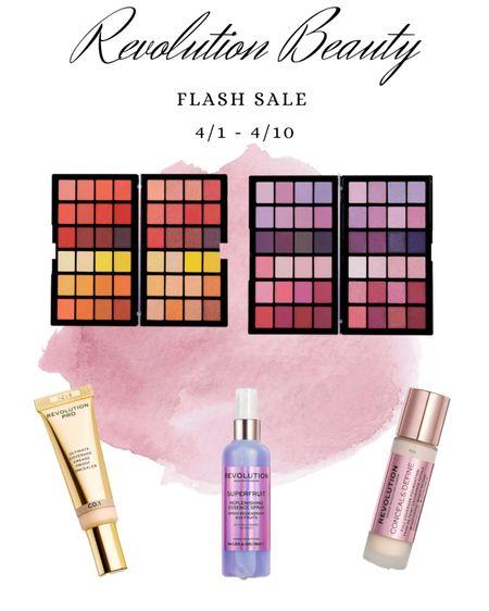 Some of my favorite Revolution Makeup products! Flash sale from 4/1 to 4/10 up to 40% off!     #LTKSpringSale #LTKsalealert #LTKstyletip