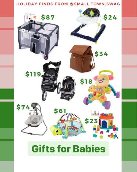 Deals on gifts for baby em and expecting mama Walmart — cyber Monday finds! . . . . . . Mom // mother // mom to be // mama to be //Baby // babies // baby registry // graco // pack n play // pack and play // stroller // travel system // Walker // shape sorter // diaper bag // baby swing // baby bouncer // baby play pen // push toy //Toy // toys // kid // kids // gift guide // gift guides // holiday gift guide // toddler // toddlers // Walmart // Walmart Christmas — Download the LIKEtoKNOW.it shopping app to shop this pic via screenshot —  #liketkit #LTKkids #LTKsalealert @liketoknow.it @liketoknow.it.family @liketoknow.it.home #LTKgiftspo http://liketk.it/32LDh