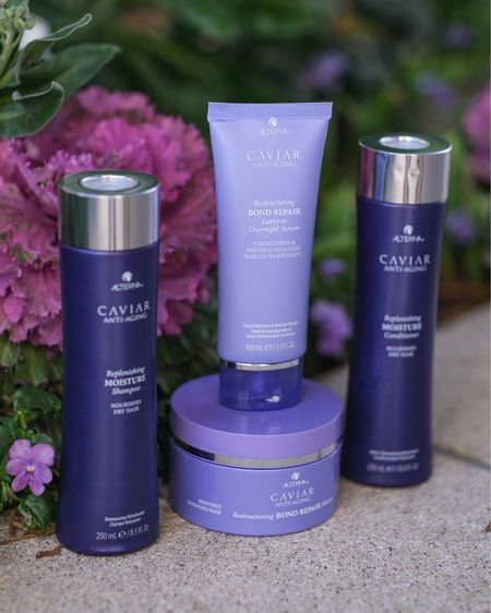 Hair pampered, nourished, and strengthened 💜#AlternaHaircaregiftedme this Rituals Package - a purple collection of goodies containing the Replenishing Moisture Shampoo & Conditioner, Restructuring Bond Repair Leave-in Overnight Serum, and Restructuring Bond Repair Masque. // How does soft, shiny, and restored hair make you feel ladies? http://liketk.it/2KrlV #liketkit @liketoknow.it