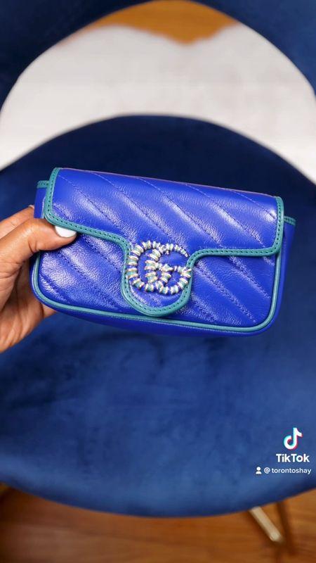 Gucci GG Marmont super mini bag   #LTKstyletip #LTKitbag