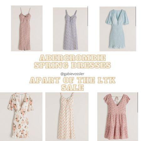http://liketk.it/3cGUc #liketkit @liketoknow.it #LTKSpringSale #LTKbaby #LTKsalealert   Abercrombie dresses for spring apart of the LTKsale.