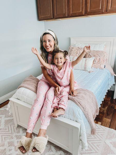 Presley's room in the new house! Blush pink and boho.    Girls room. Bedding. Bedroom decor.   #LTKhome #LTKunder100 #LTKkids
