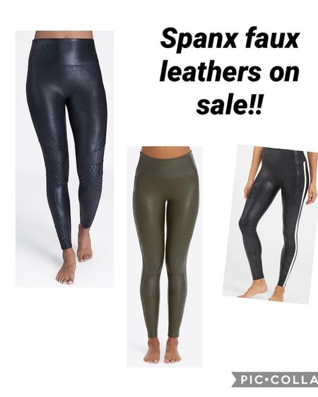 These faux leather leggings are on major sale!! The quilted, the olive and the side stripe are my picks for styles in the sale!   http://liketk.it/35xEK #liketkit @liketoknow.it #LTKsalealert Follow me on the LIKEtoKNOW.it shopping app to get the product details for this look and others