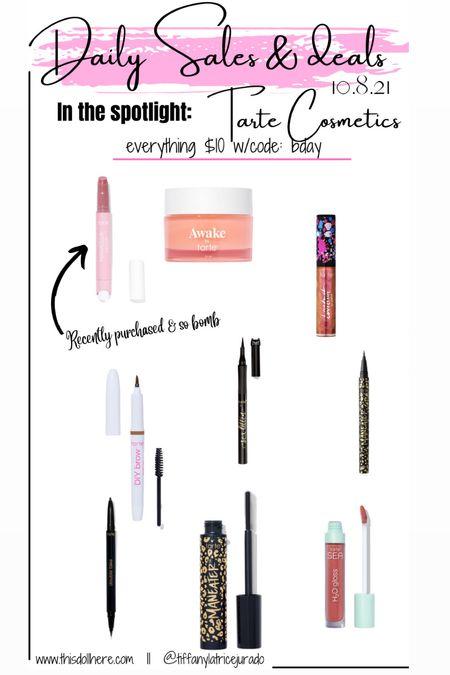Major sale! Tarte cosmetics   #LTKunder50 #LTKbeauty #LTKsalealert