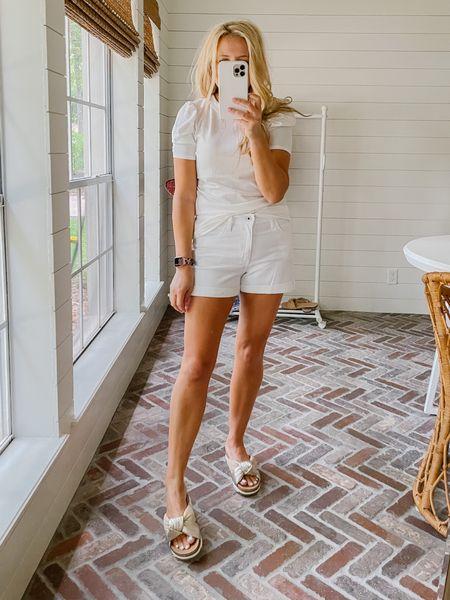 Such a fun all white look.   #LTKstyletip #LTKSeasonal