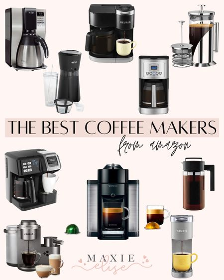 The Best Coffee Makers From Amazon 🙌🏼  #amazonfinds #amazonhome #amazoncoffee #coffeebar #coffeemachine #coffeemaker  #LTKunder100 #LTKunder50 #LTKhome