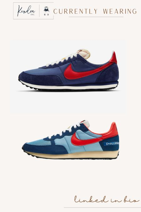 Loving these retro shoe vibes from Nike!