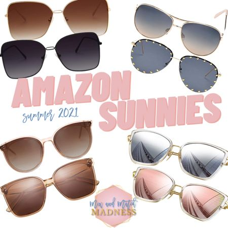SUMMER 2021 SUNNIES! For the person who wants to splurge, spend, or save. Linked below are some amazing Amazon finds and other favorites so you can spend this summer in style!!!    http://liketk.it/3fuBl #liketkit #LTKstyletip #LTKunder50 #LTKunder100 Shop your screenshot of this pic with the LIKEtoKNOW.it shopping app @liketoknow.it