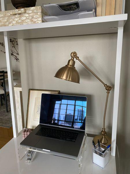 Desk accessories and lamp   #LTKhome #LTKunder100 #LTKunder50