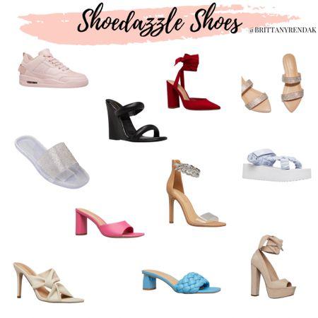 ShoeDazzle shoes  Summer shoes, summer sandals, colored sandals, hot pink shoes, red pumps, pink sneakers, summer style  #LTKtravel #LTKunder100 #LTKstyletip