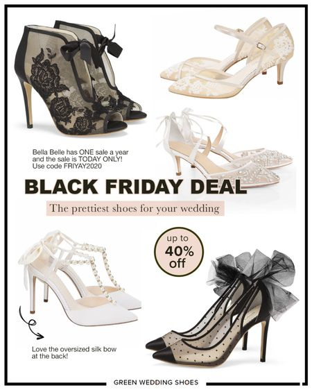 The prettiest shoes for your wedding, engagement or date night!! This is their ONE sale a year! Save up to 40% off with FRIYAY2020  Wedding shoes Fancy shoes   http://liketk.it/32pad #liketkit @liketoknow.it #LTKwedding #LTKshoecrush #LTKsalealert