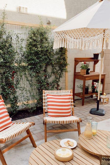Outdoor patio ready for spring http://liketk.it/3d6Y2 #liketkit @liketoknow.it #LTKhome #LTKstyletip @liketoknow.it.home