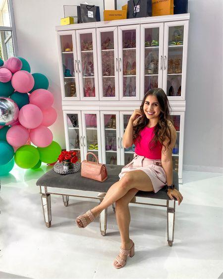 Monochrome pink outfit 💖  http://liketk.it/3fNcl #LTKstyletip #LTKunder50 #liketkit #LTKsalealert #LTKSeasonal #competition @liketoknow.it