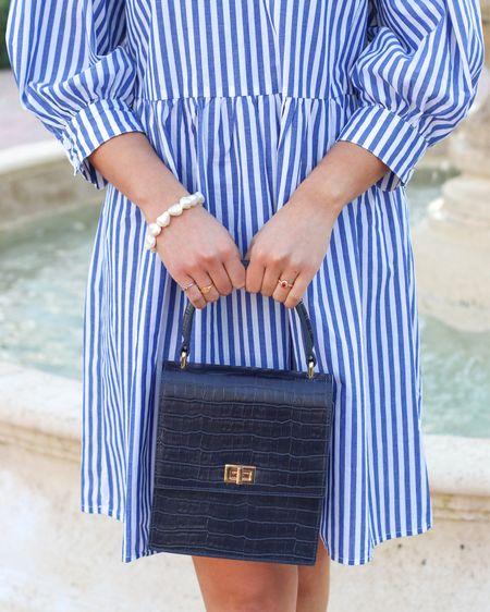 Striped dress. 4th of July  #LTKunder100 #LTKSeasonal #LTKstyletip