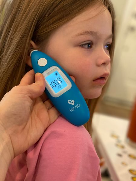 Since so many parents are dealing with a sick kiddo, I want to share my go to cold remedies that are helping me manage Baker's RSV symptoms.  The Kinsa ear thermometer is awesome because I can track every temperature check on the app, and each member of the family gets their own profile to track temp & symptoms 🙌   There are two humidifiers linked in this post because one is a warm steam and the other is cool mist… one of the cool mist humidifiers is a little more expensive because it has a light that projects stars on the ceiling 🤷♀️   The nose Frida is awesome, and this is the first cold I've actually used the saline spray on and it really does help - using both of these products on a 3 1/2 year old is basically like wrestling a crocodile, but absolutely worth it!  Good luck care for your sick babes 💝  #LTKbaby #LTKfamily #LTKkids
