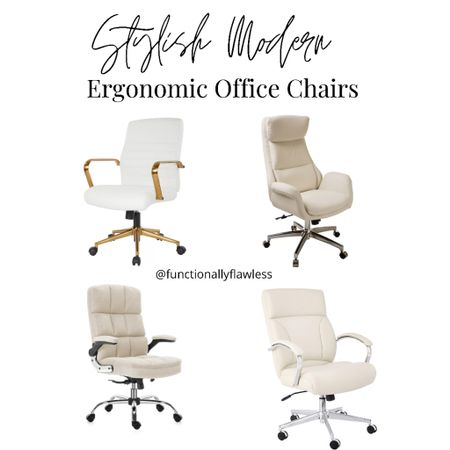 Stylish modern ergonomic office chairs, work from home, office furniture, home office decor   #LTKstyletip #LTKhome