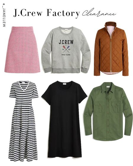 Take an extra 50% off on these clearance items when you use the code: EXTRA50. #clearance #jcrew #jacket #dress #maxi #sweater #sweatshirt #top #pillover #pufferjacket #skirt #ltkholiday #falloutfits #autumn  #LTKSeasonal #LTKsalealert #LTKGiftGuide