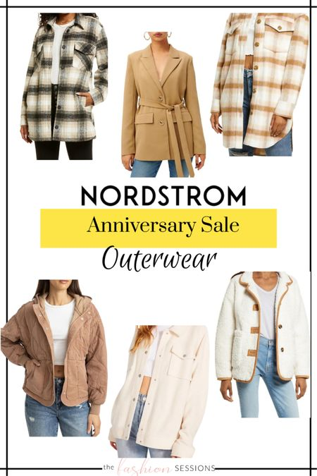 Nordstrom Anniversary Sale Picks!  Outerwear | coats | blazers | denim jacket | wool coat | trench | faux leather | coat shacket    Shop your screenshot of this pic with the LIKEtoKNOW.it shopping app http://liketk.it/3jsvm #liketkit @liketoknow.it #LTKunder50 #LTKunder100 #LTKsalealert