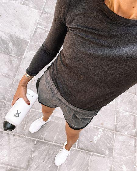 Fitness favorites from the #nsale. Top runs slightly large - wearing xxs. #nordstromanniversarysale #nordstromsale #workout #activewear #nordstrom  #LTKunder100 #LTKsalealert #LTKunder50