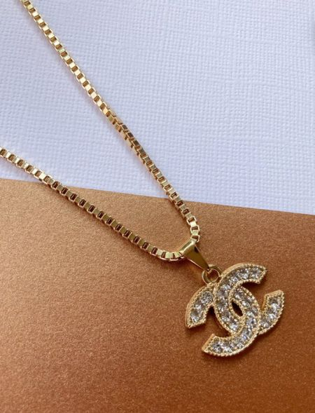 Loveee this gorg repurposed designer necklace! And it's under $100!  #LTKunder50 #LTKstyletip #LTKunder100