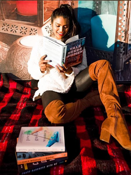 #bookrecommendations #bookgifts #giftideas #LTKday #12daysofltk #sweaterweather #spanxleggings #buffaloplaid #overthekneeboots http://liketk.it/2H68y #liketkit @liketoknow.it #LTKholidaystyle #LTKholidaygiftguide #LTKsalealert @liketoknow.it.family @liketoknow.it.home Shop your screenshot of this pic with the LIKEtoKNOW.it shopping app