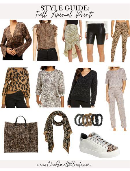 Fall animal print favorites 🖤  #LTKunder100 #LTKstyletip #LTKSeasonal
