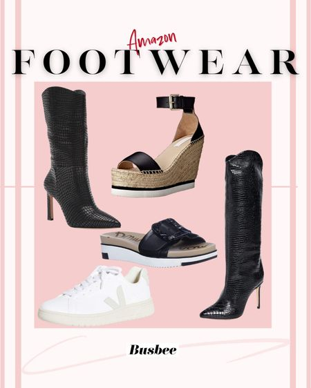 Couple hours left to shop Amazon Prime Day…   Whether you're looking for some boots,  sandals, or sneakers, below we are sharing our favorite shoes from the sale.  The wedges are my favorite. They're REALLY high to make your legs look a mile long, and they can easily be dressed up or down.   ~Erin xo  http://liketk.it/3icVZ #liketkit @liketoknow.it   #LTKshoecrush #LTKsalealert