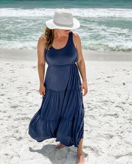 The saltwater heals my soul. I love hearing the waves and feeling the sand between my toes. This was the perfect dress for vacation. Easy breezy and pretty at the same time.  @liketoknow.it #liketkit Shop your screenshot of this pic with the LIKEtoKNOW.it shopping app http://liketk.it/3jGFV