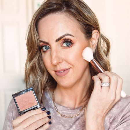 Try my blush trick! Shades I used: Fresco in the Laura Mercier or Bespoke in the Essence http://liketk.it/35FBS #liketkit @liketoknow.it