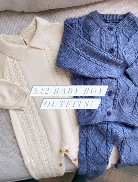 Baby boy outfits! Completely blown away by the quality of these $12 baby boy clothes! #babyboy #boyclothes   #LTKbaby #LTKkids