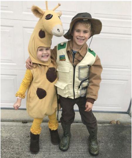 Safari Halloween costumes for kids #justpostedblog   Kids costumes  Amazon  Safari  #LTKunder50 #LTKSeasonal #LTKkids