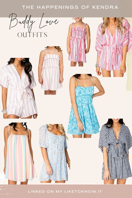 @shopbuddylove outfits for you and your mini #liketkit #LTKDay #LTKfamily #LTKsalealert @liketoknow.it http://liketk.it/3hjHH #ltkunder100 #ltksummer #matchingoutfits