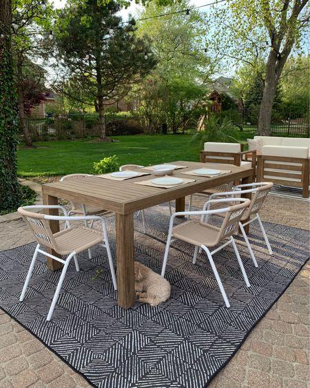 Outdoor dining set http://liketk.it/3eqeP #liketkit @liketoknow.it #LTKhome #LTKstyletip #LTKunder100