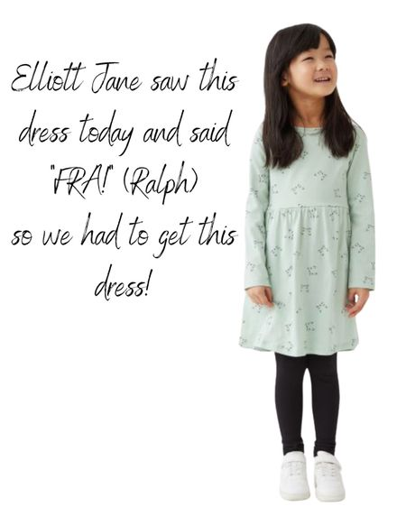 When your little girl sees a dress and says the name of her cat, you buy the girl that dress!   #LTKkids #LTKSeasonal #LTKstyletip