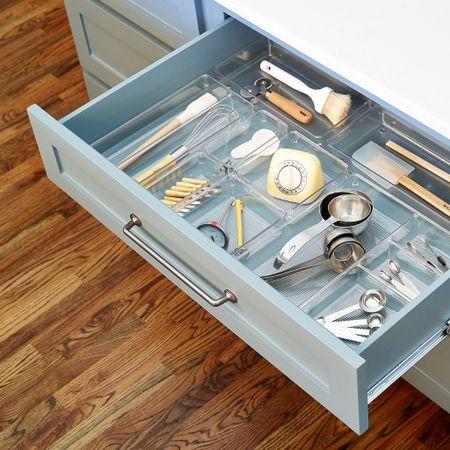 Clear drawer organizers, kitchen organization, drawer organization, kitchen utensils @liketoknow.it #liketkit http://liketk.it/3hWbz #LTKhome #LTKstyletip #LTKunder50