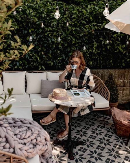 Coffee on my garden rattan sofa http://liketk.it/3iW8k #liketkit @liketoknow.it #LTKeurope #LTKunder100 #LTKhome @liketoknow.it.europe @liketoknow.it.home