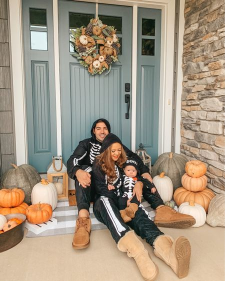 Halloween costume. Family Halloween costume. Baby girl costume. Skeleton costume. Matching family. Family matching. Mommy and me. Family costumes. Amazon finds. Fall outdoor decor. Fall front porch. Fall decor.   #LTKfamily #LTKHoliday #LTKSeasonal