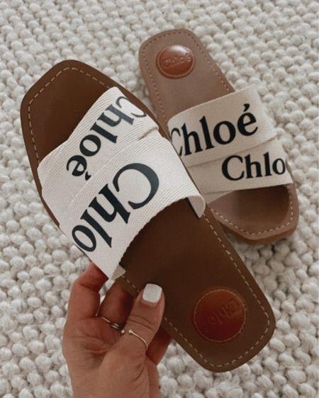 Fully stocked in most colors! Chloe slide sandals. Summer sandals. http://liketk.it/3hD7j @liketoknow.it #liketkit #LTKshoecrush #LTKtravel