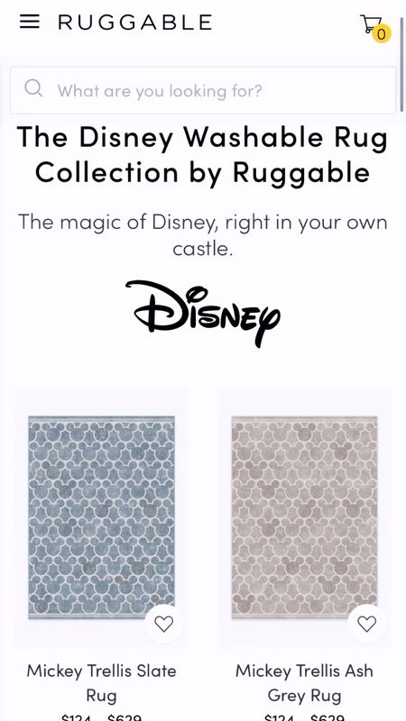 Disney rugs Mickey Mouse Minnie Mouse  Ruggable  #LTKhome #LTKfamily #LTKSpringSale