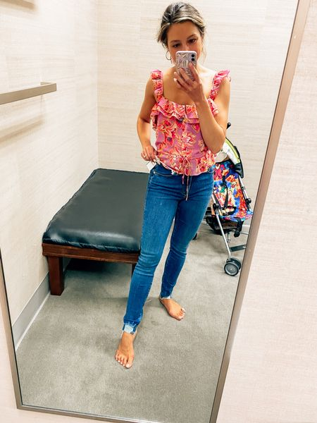 NSale // Nordstrom // Anniversary Sale // denim // Good American // skinny jeans // good legs   #LTKcurves #LTKsalealert #LTKstyletip